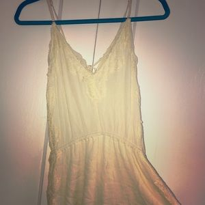 Cream color Kendall & Kylie Romper